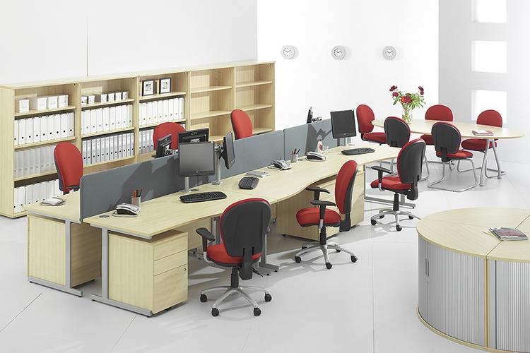 1493353822 phoi mau trong thiet ke thi cong noi that 2 1 - Chọn bàn làm việc phù hợp và đẹp trong nội thất văn phòng