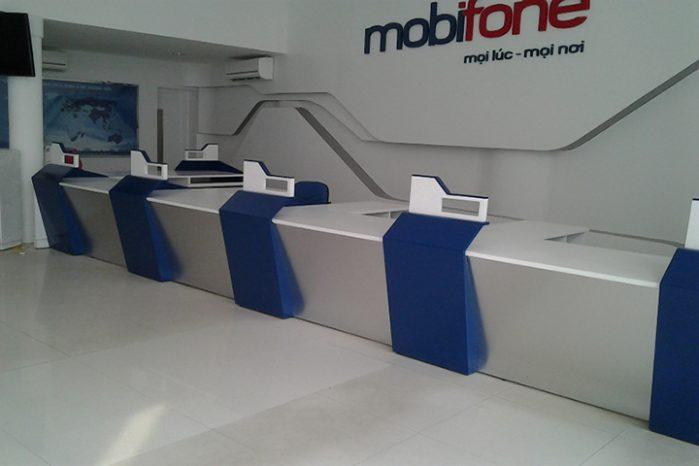thiet ke thi cong noi van phong mobiphone chi nhanh 6