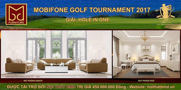 """thiet ke noi that bmd 1 - Mùa giải """"MobiFone Golf Tournament 2017"""" cùng nhà tài trợ HOLE IN ONE"""