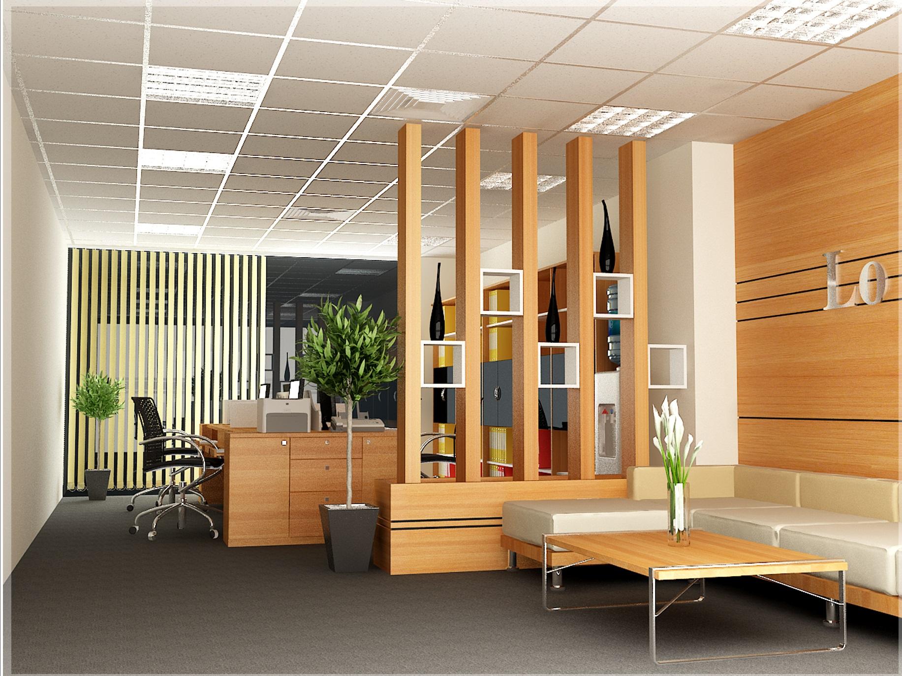 thiet ke noi that van phong1 - Công ty thiết kế nội thất văn phòng uy tín tại TP HCM