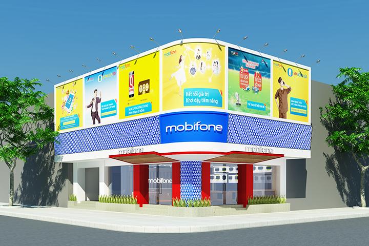 thiet ke noi that mobifone ky anh - Thiết kế Nội Thất Mobifone CN Kỳ Anh