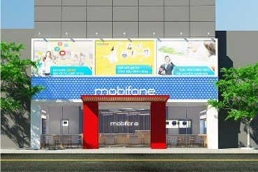 thiet ke noi that mobifone Lao cai 2 thumb - Thiết kế Nội Thất Mobifone CN Lào Cai
