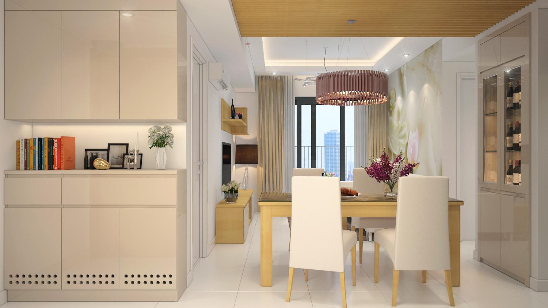 R2 PhongKhachBep View 03 - Địa chỉ uy tín tại TP HCM khi nhắc tới thiết kế nội thất nhà bếp