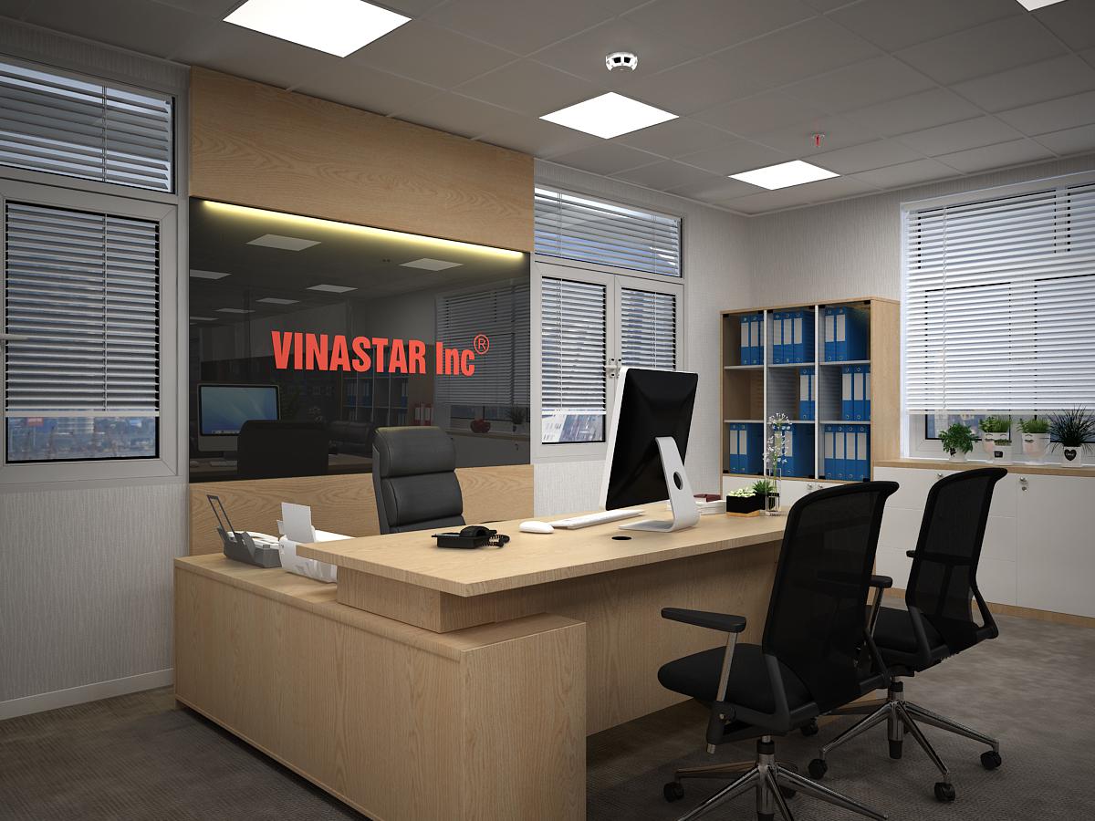 lau 1  giamdoc view 1 1 - Văn phòng Công Ty Vinastar