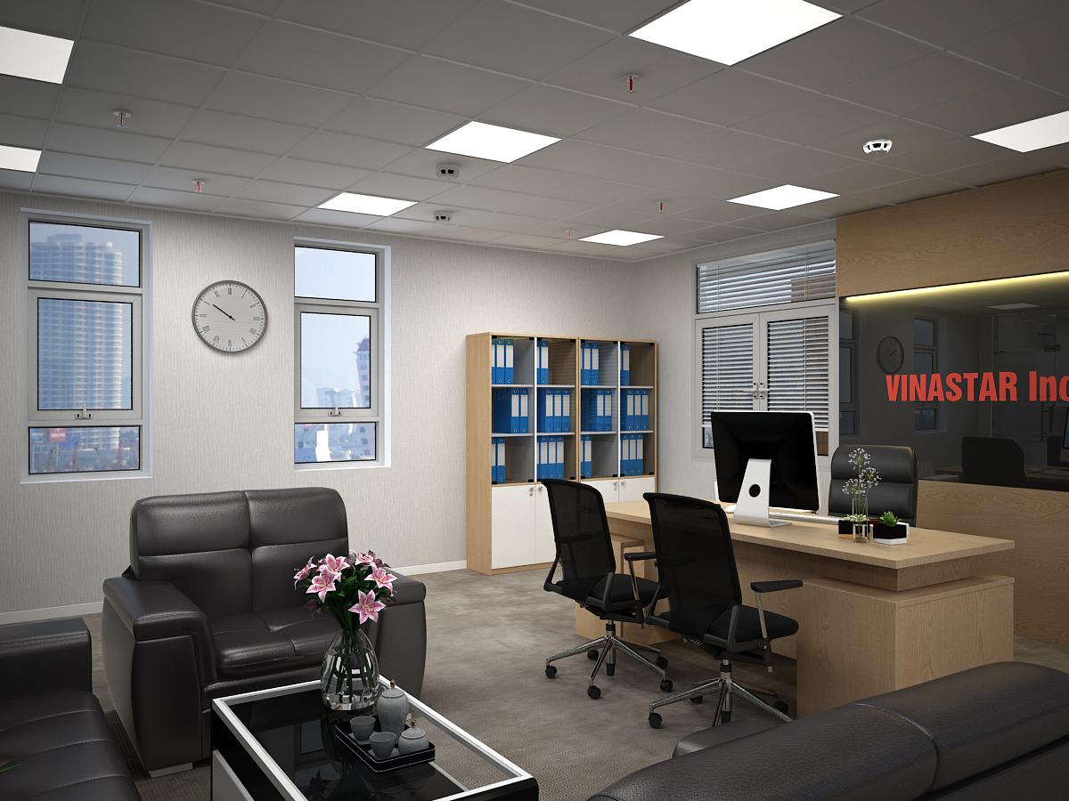lau 1  giamdoc view 3 1 - Văn phòng Công Ty Vinastar