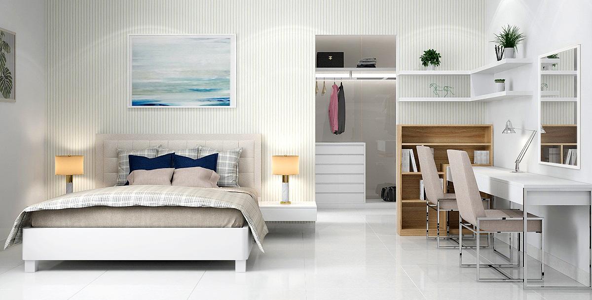noi that phong ngu 02 - Nội thất phòng ngủ - Nên lựa chọn tủ quần áo có chất liệu như thế nào?