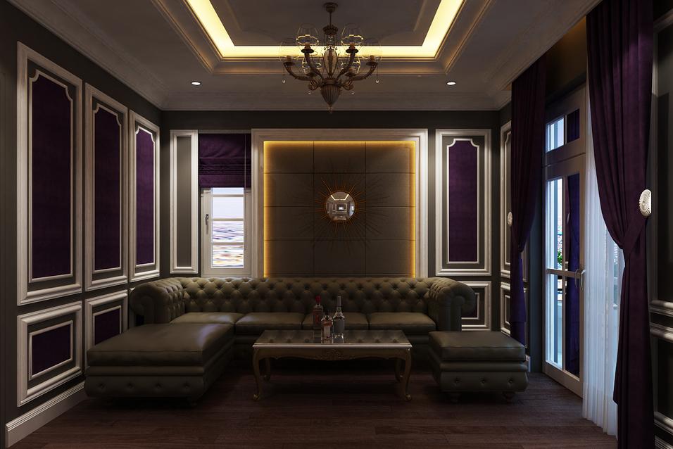 villa Anh Cung 10 - Thiết Kế Thi Công Nội Thất Villa Nhà Anh Cung