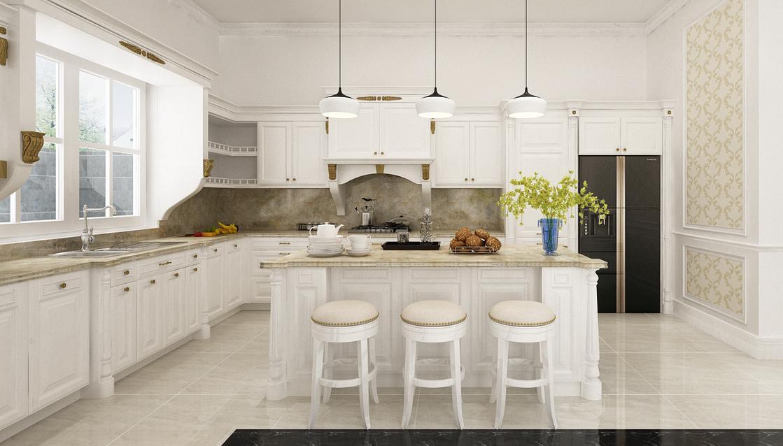 villa Anh Cung 3 1 - Một số quy tắc về kích thước trong thiết kế nội thất phòng bếp